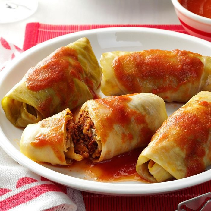 Meatball Cabbage Rolls