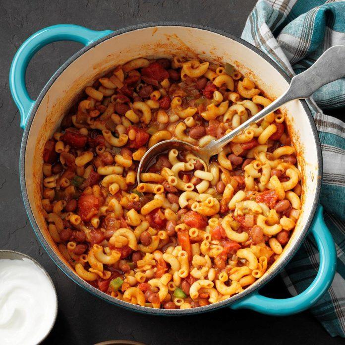 February 20: Meatless Chili Mac