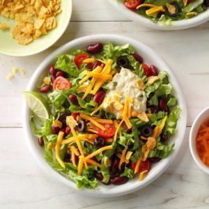 Meatless Taco Salad