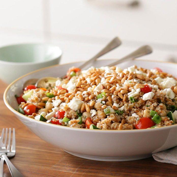 Mediterranean Bulgur Salad