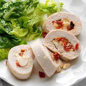 Mediterranean Stuffed Chicken Breasts