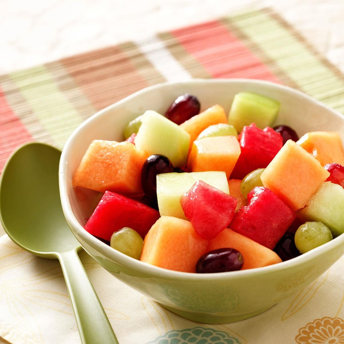 Melon And Grape Salad Recipe How To Make It Taste Of Home