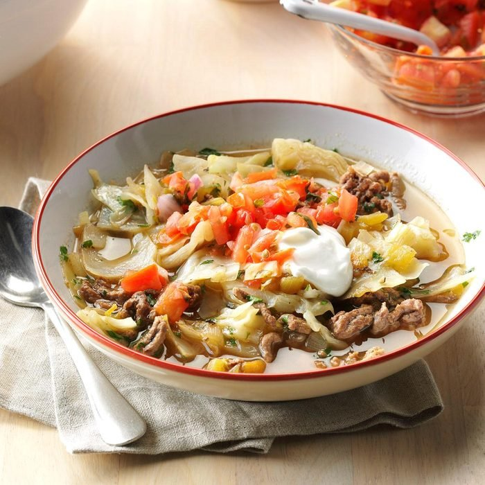 Day 15: Mexican Cabbage Roll Soup