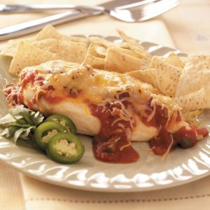 Mexican Cheese and Salsa Chicken
