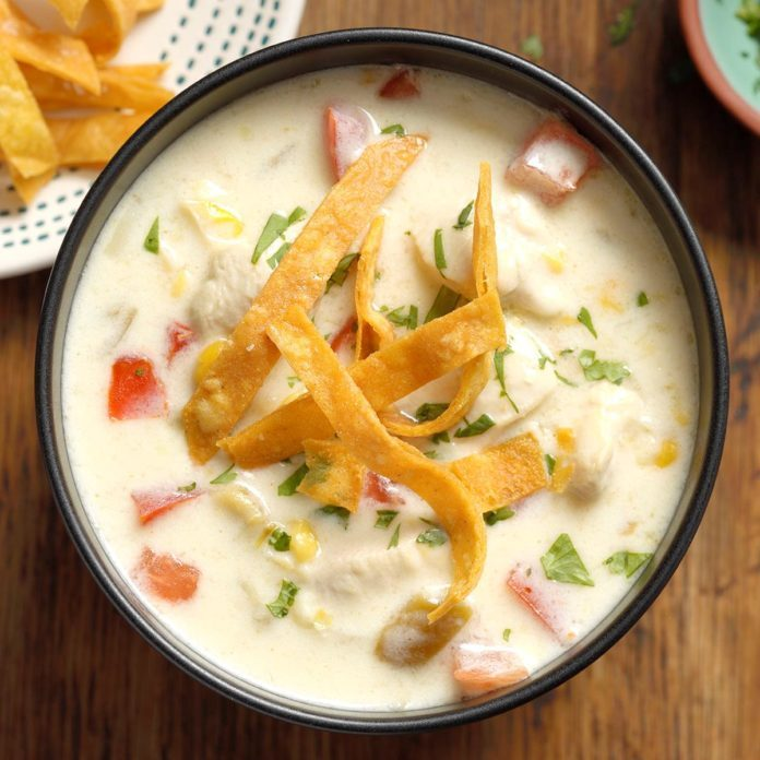 Mexican Chicken Corn Chowder
