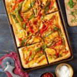 Mexican Chicken Fajita Pizza