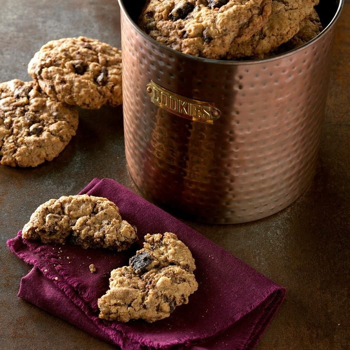 Mexican Chocolate Oatmeal Cookies