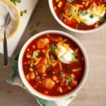 Mexican-Inspired Chicken Soup