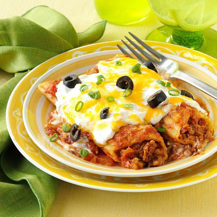 Mexican Manicotti