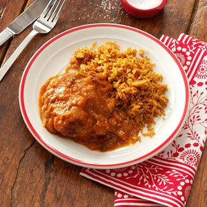 Mexican Smothered Chicken Thighs