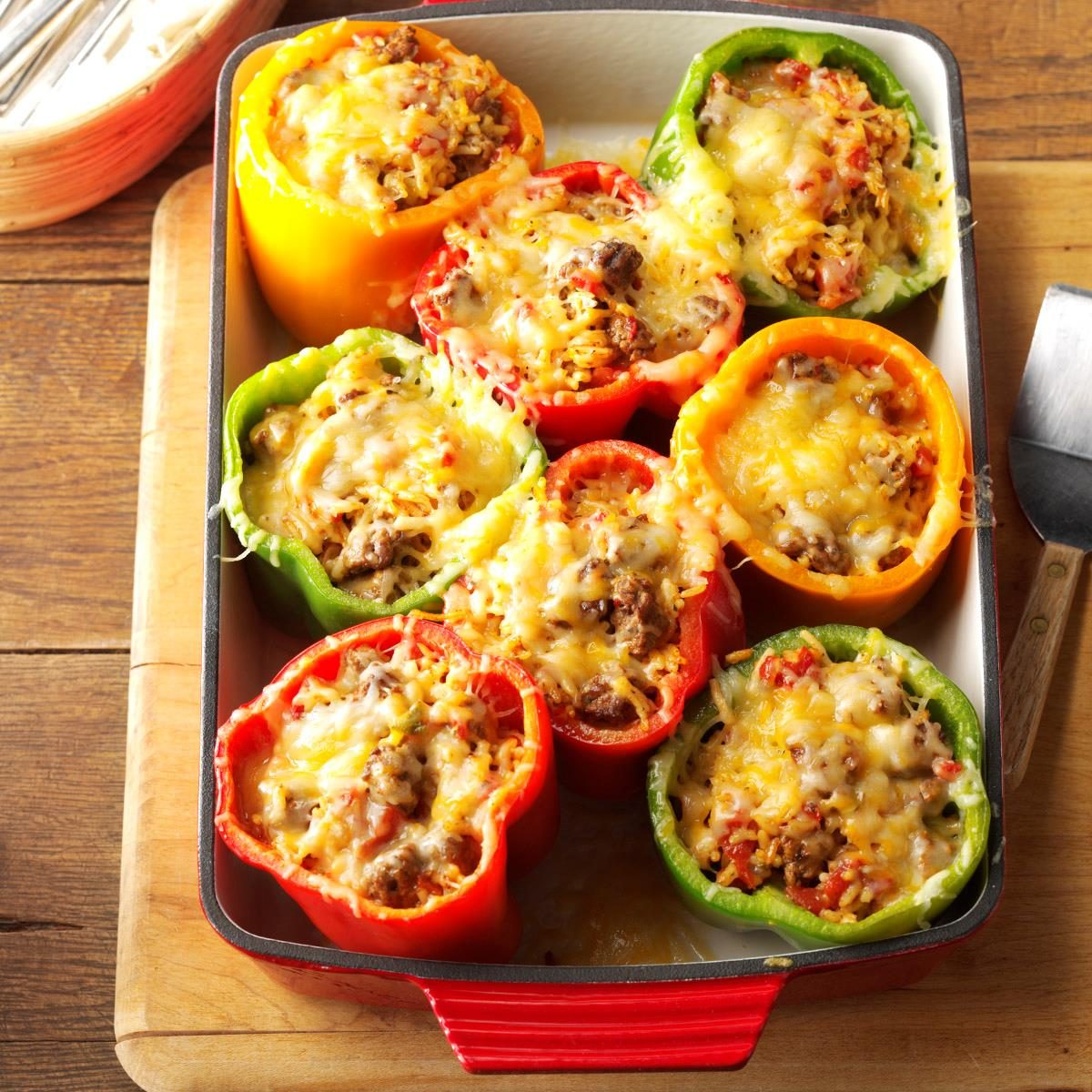 Peppers: Mexican Stuffed Peppers