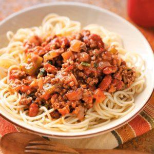 Mexican-Style Spaghetti