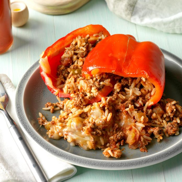 Bell Peppers: Mexican-Style Stuffed Peppers