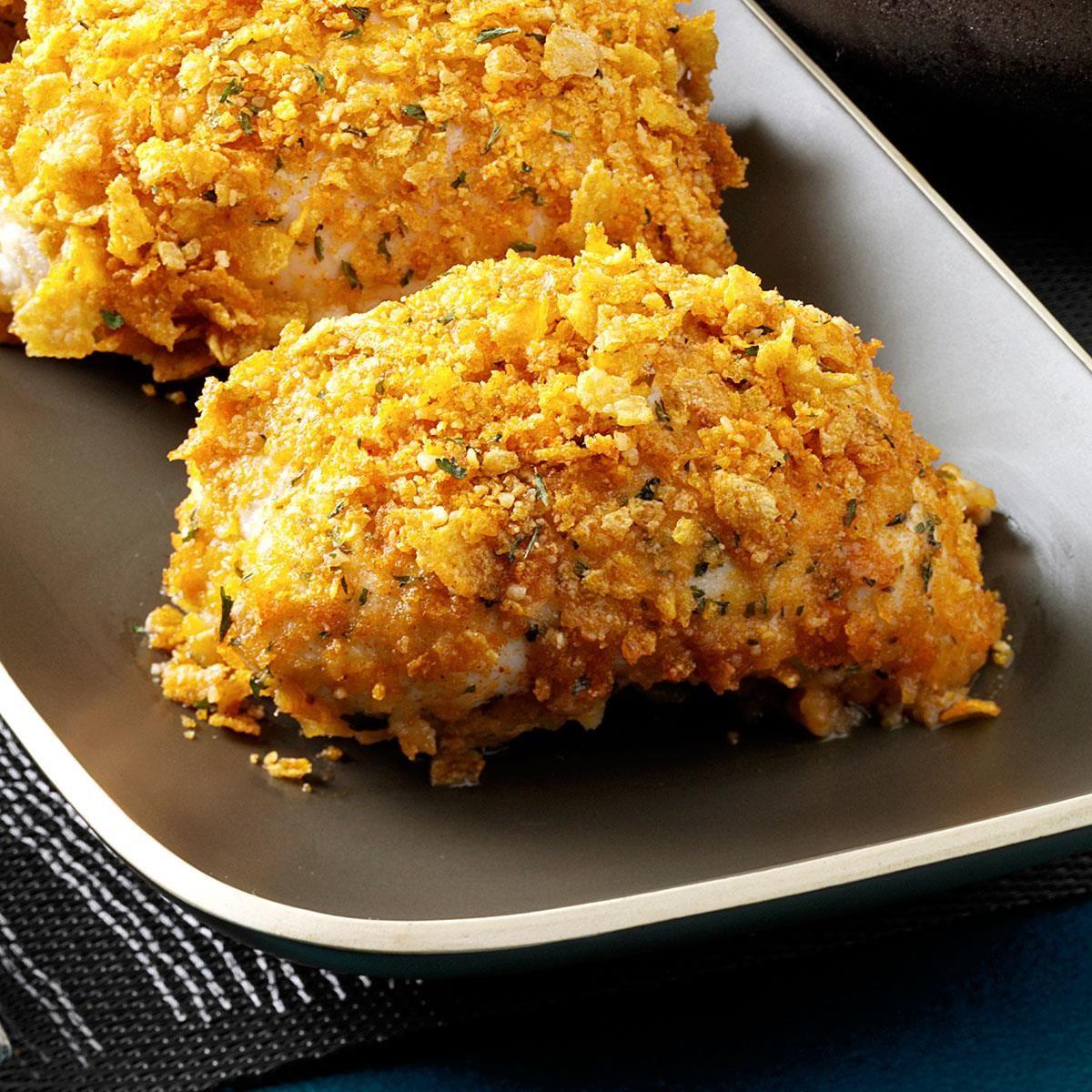 Microwaved Chicken Kiev