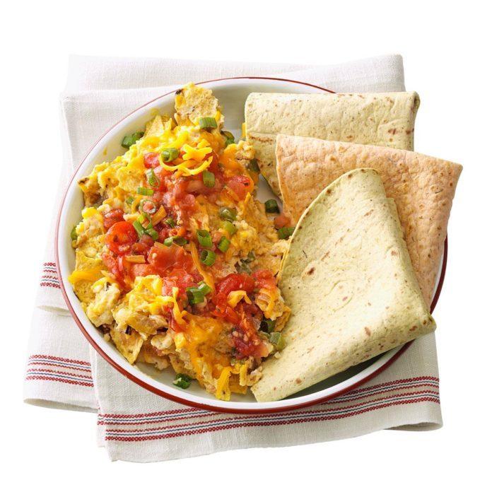 Day 7 Breakfast: Migas, My Way