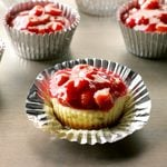 Mini Cherry Cheesecakes