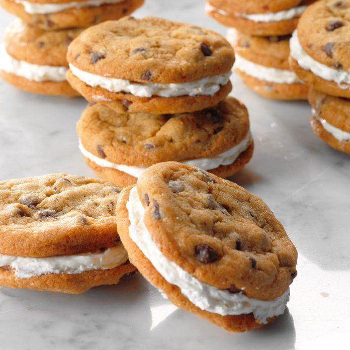 Mini Chocolate Chip Sandwich Cookies
