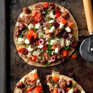 Mini Mediterranean Pizza