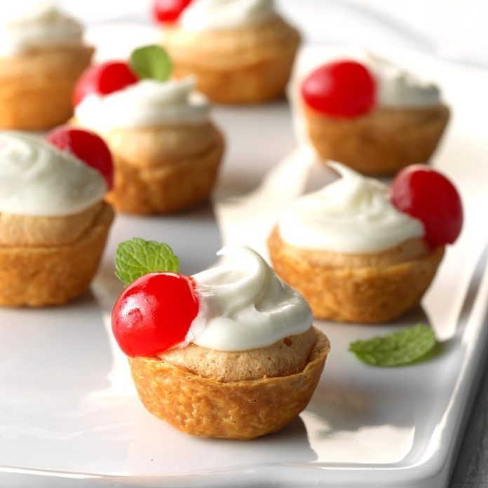 Miniature Almond Tarts