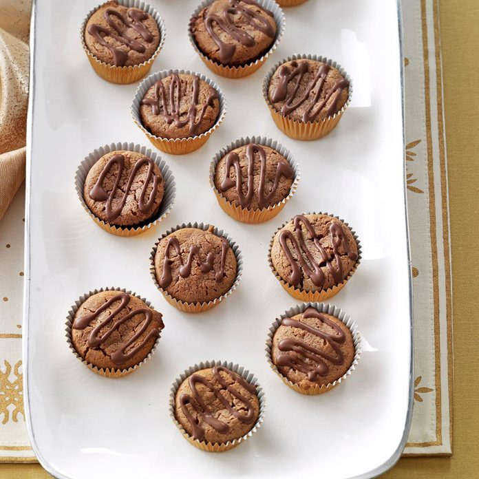 Mint Brownie Cheesecake Cups