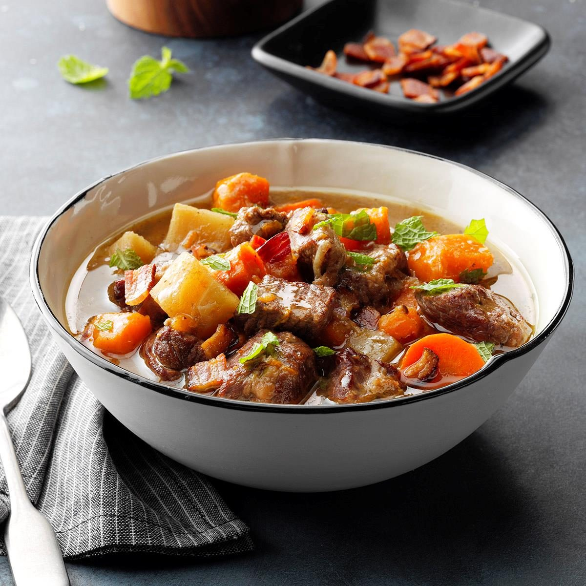 Mint Lamb Stew Recipe How To Make It Taste Of Home