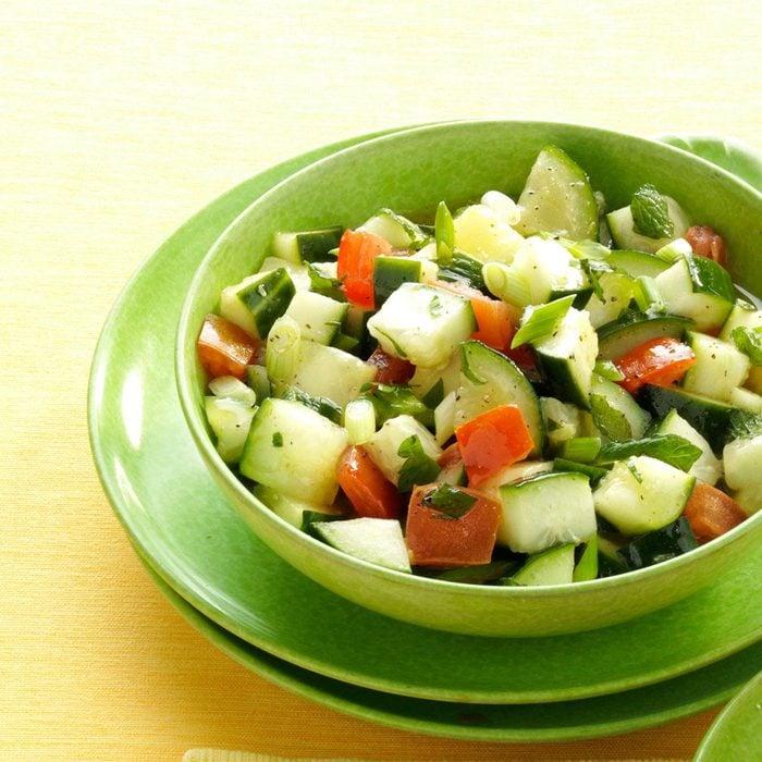 Minted Cucumber Salad
