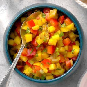 Minty Mango Salsa