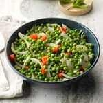 Minty Peas and Onions