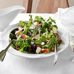 Mixed Green Salad with Cranberry Vinaigrette