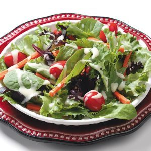 Mixed Greens with Honey Mustard Dressing