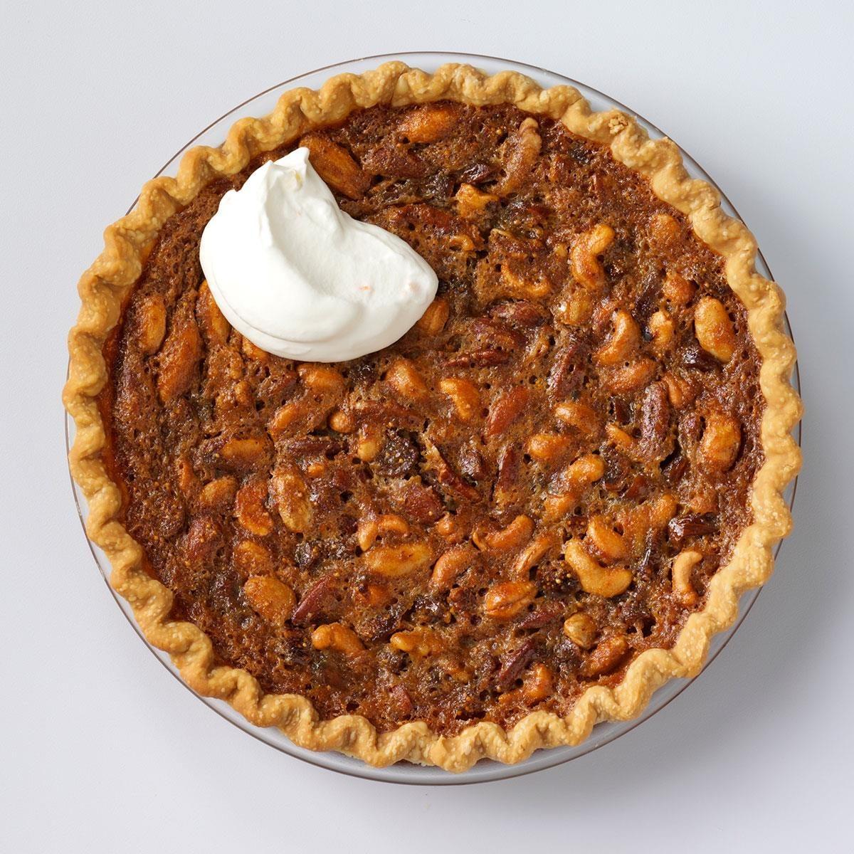Mixed Nut 'n' Fig Pie