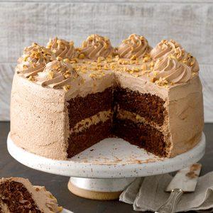 Mocha Hazelnut Torte