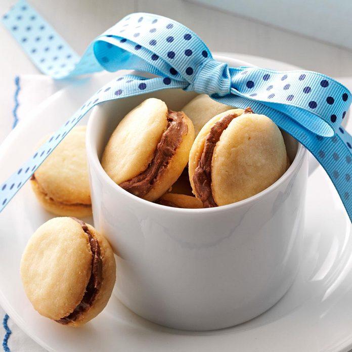Mocha Sandwich Cookies