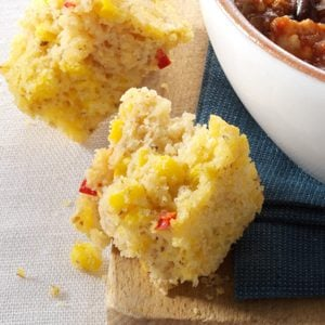 Moist Red Pepper Cornbread