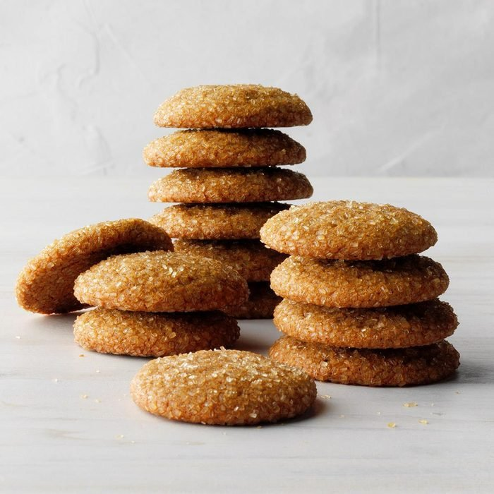 Molasses Cookies with a Kick