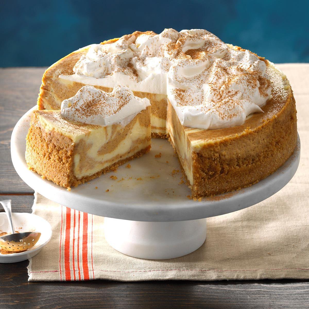 Mom's Best Pumpkin Cheesecake