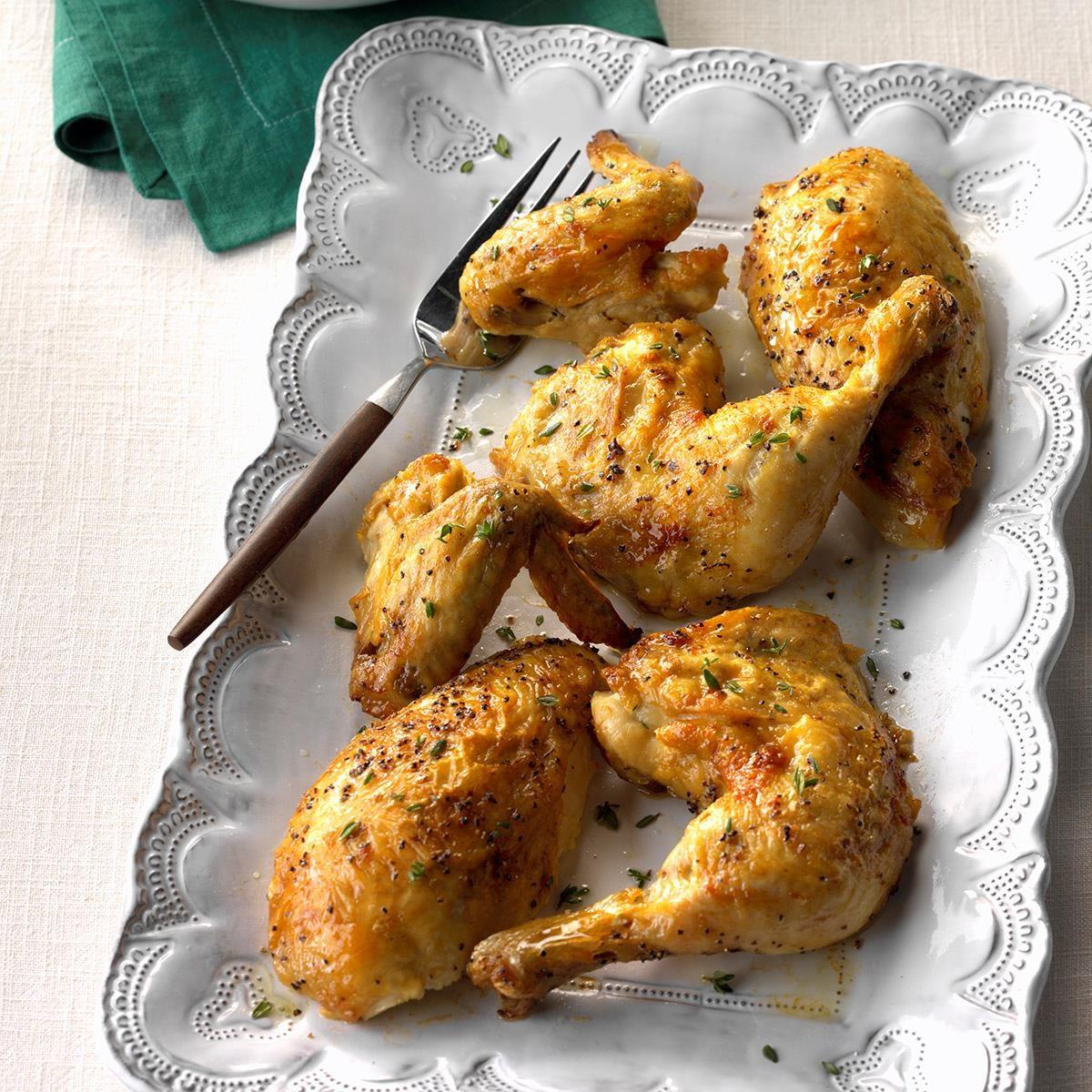 Mom's Roast Chicken Recipe