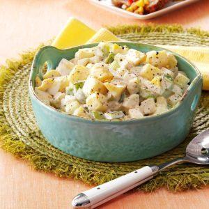 Momma's Warm Potato Salad