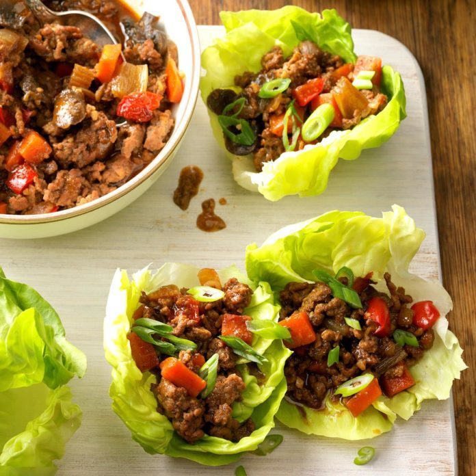Moo Shu Lettuce Cups