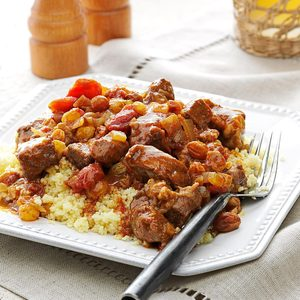 Moroccan Braised Beef