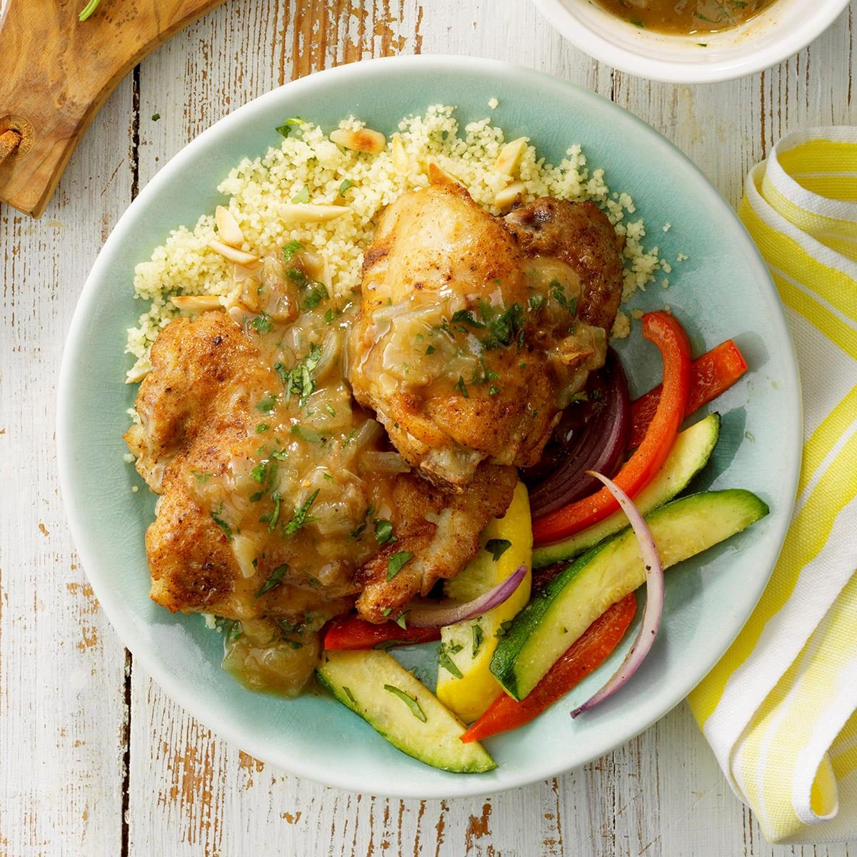 Moroccan Chicken Thighs