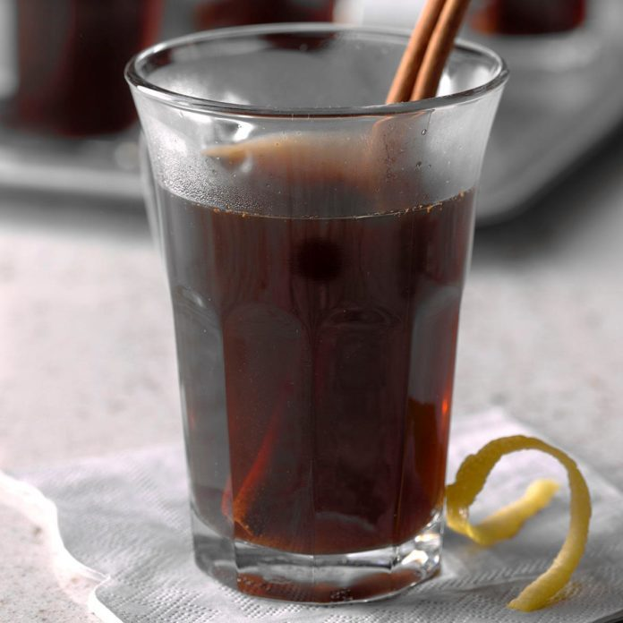 Capricorn: Mulled Dr. Pepper