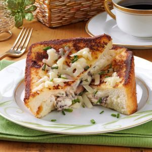 Mushroom-Herb Stuffed French Toast