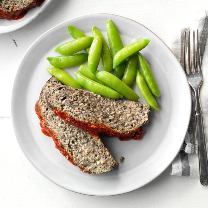 Mushroom Meat Loaf
