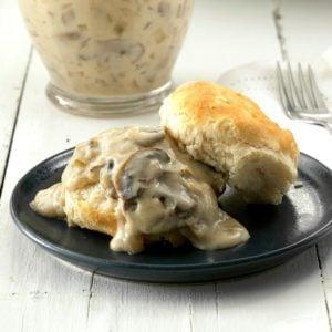 Mushroom Sour Cream Gravy