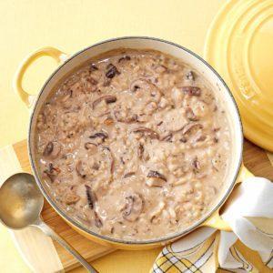 Mushroom & Wild Rice Soup