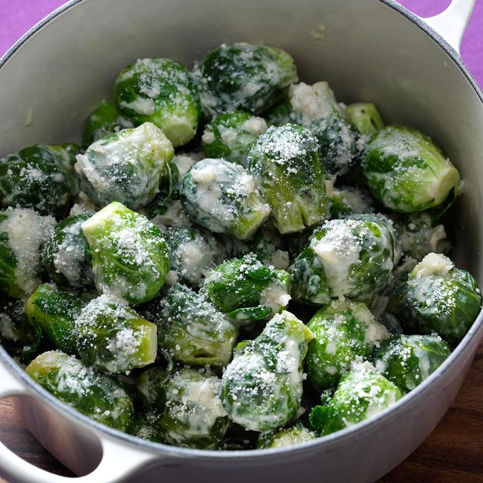 Mustard Brussels Sprouts