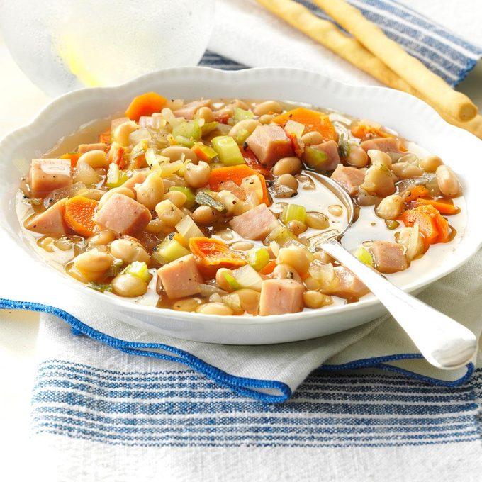Navy Bean Vegetable Soup