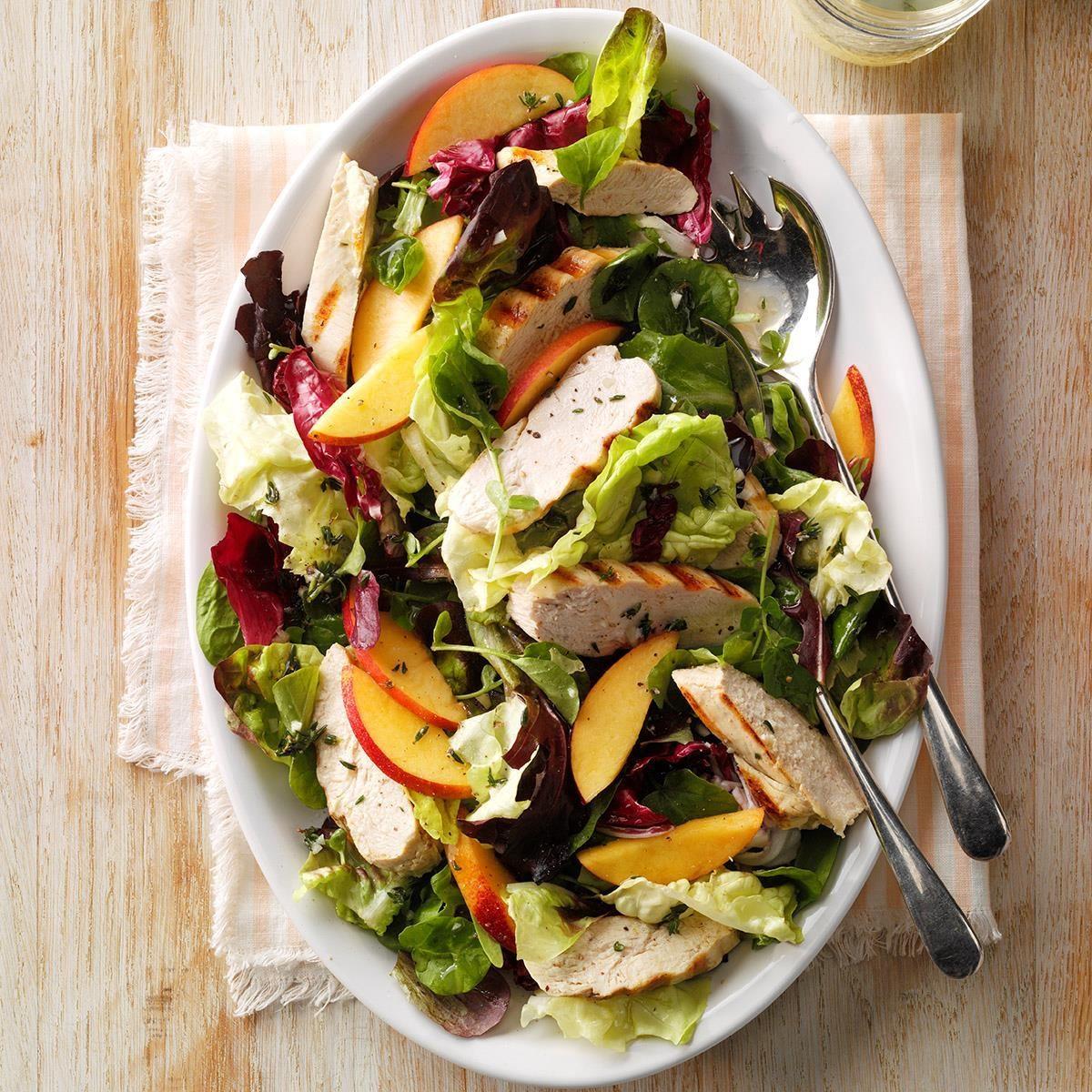 Nectarine Chicken Salad