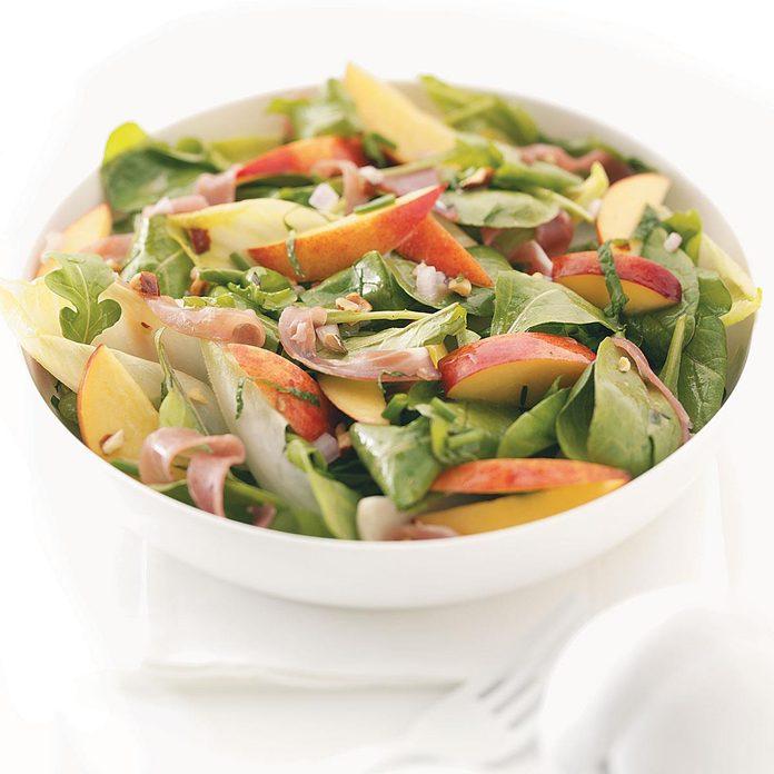 Nectarine, Prosciutto & Endive Salad